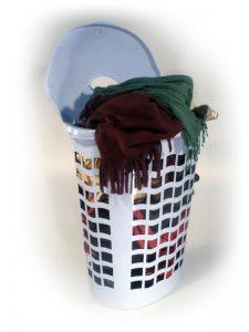 Kôš na prádlo ovál