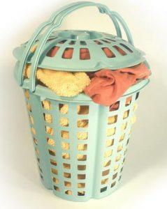 Kôš na prádlo s rúčkou